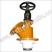 FEP lined Flush Bottom Valve