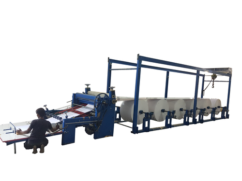 automatic paper to sheet cutting machine