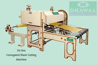 online corrugated sheet cutting machine