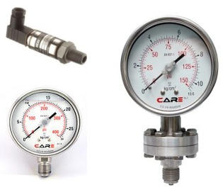 Differential Pressure Transmitter/Pressure Gauges