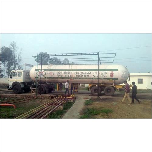 LPG Fuel Tanker