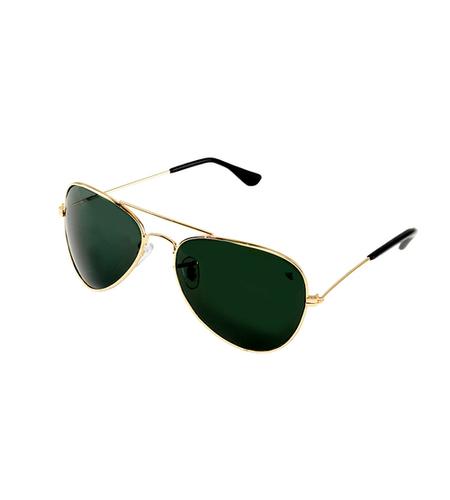 Mens green & golden sunglasses