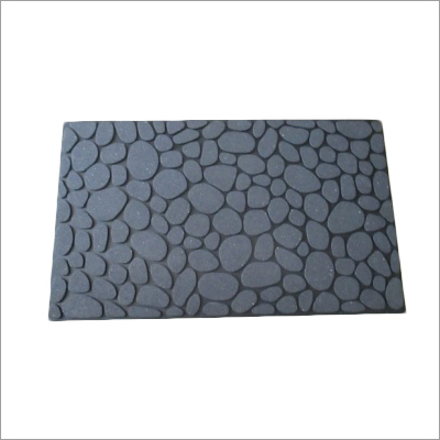 Embed Pebbles Door Mat