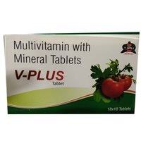 V-PLUS Multivitamin with Mineral Tablets