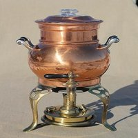 Antique Copper Coffee Urn