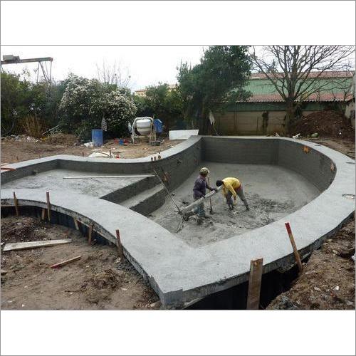 Concrete Swimming Pool Construction Service