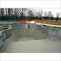 Outdoor Swimming Pool Construction