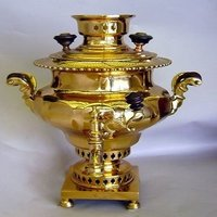 Rare Imperial Brass Coffee Urn