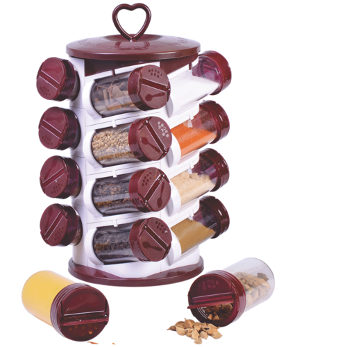 Spice Jar Set (16 Pieces)