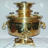 Brothers Shemarin Brass Tea Urn
