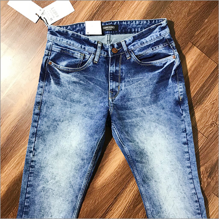 Rough Wash Jeans