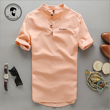 Chinese Collar Shirt
