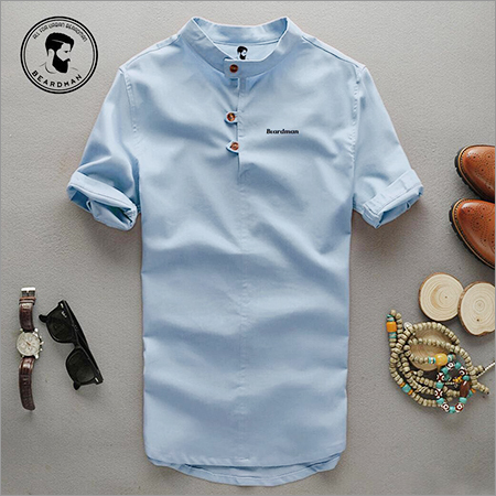 Chinese Collar Fancy Shirt
