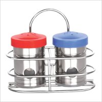 Salt & Pepper Dispenser ( With Stand)
