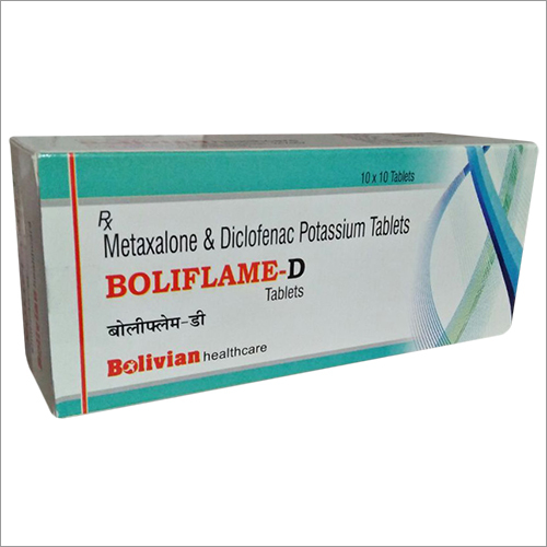 Metaxalone & Diclofenac Pottasium Tablet