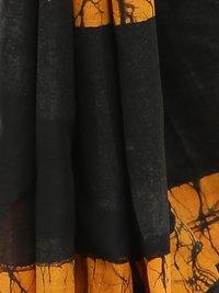 Sanganeri Handblock Batik Print Cotton Mull Saree