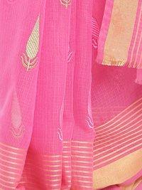 Ethnic Wear Embroidered Kota Doria Saree