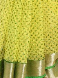 Fab Rajasthan Print Ethnic Wear Kota Doria Saree