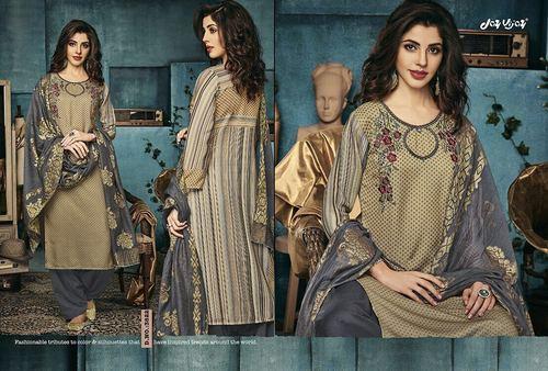 Casual Printed Salwar Suit