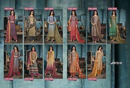 Jay Vijay Lunching New Designer Casual Salwar Suit