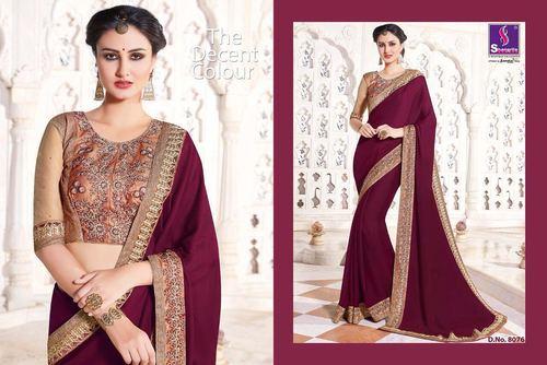 Indian Designer Cotton Silk Saree