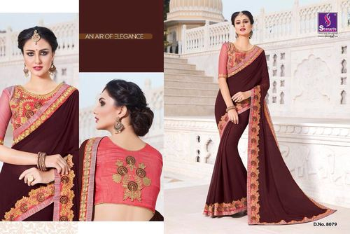 Indian Designer Cotton Koti Silk Saree