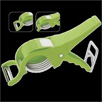 Veg & Fruit Cutter & Peeler (2 in 1)