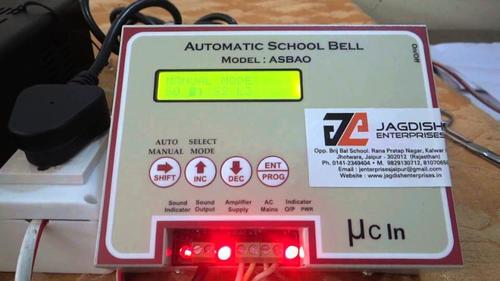 Electronic School Bell System