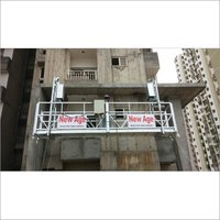 W Shaped Rope Suspended Platform