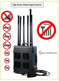 Mobile Signal Jammer High Power
