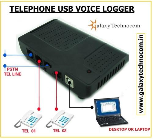 Telephone Voice Logger
