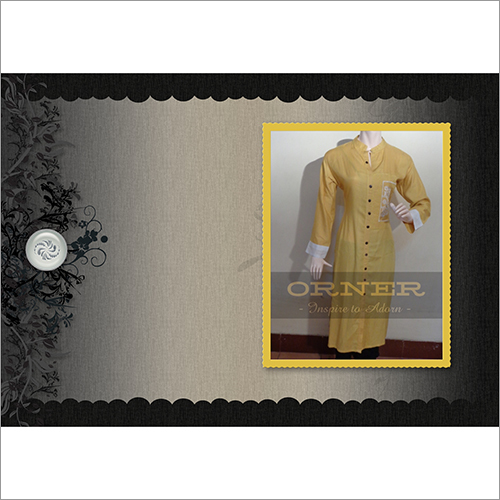 Full Sleeve Embroidered Kurti