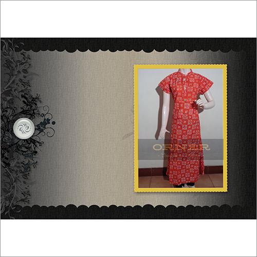 Cotton Jaipuri Short Sleeve Kurti