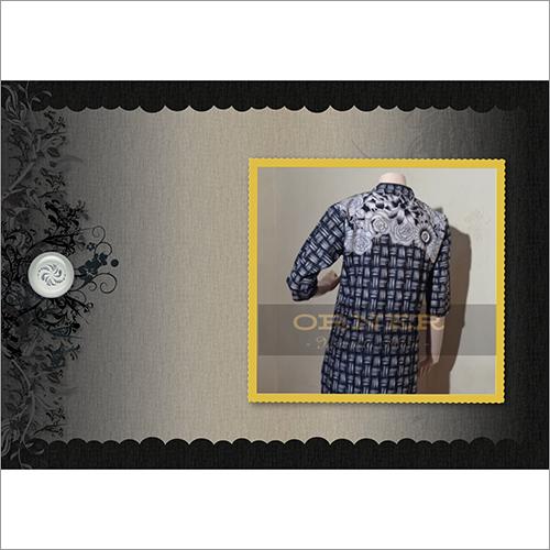 Cotton Jaipuri 3Q Sleeve Knee Length