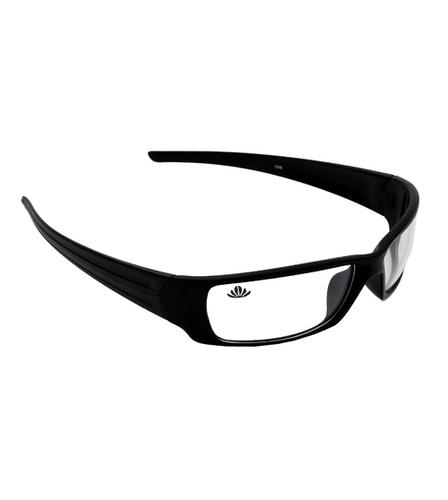 Mens transparent white black sunglasses