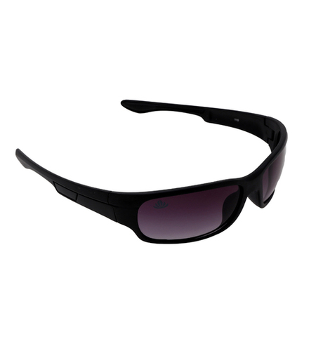 mens black & purple sports sunglasses