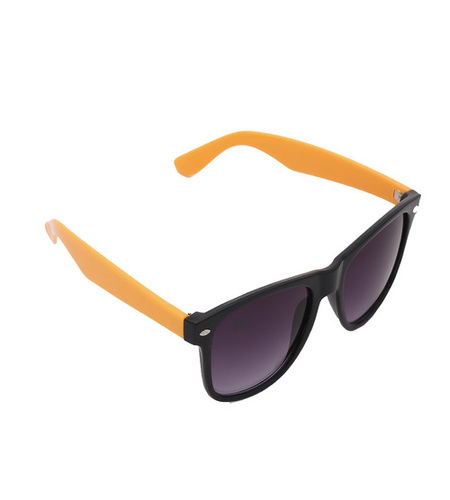 mens purple & orange sunglasses