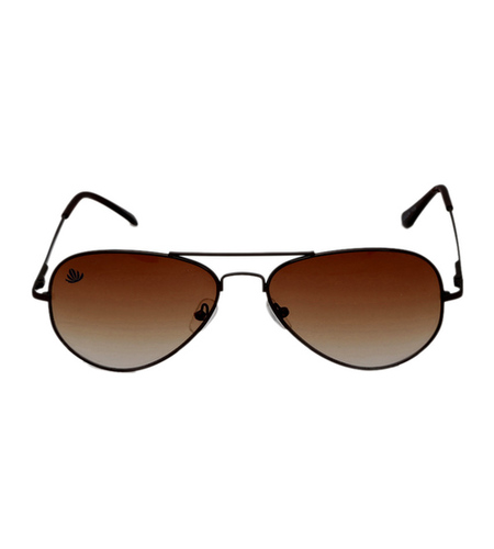 mens black & brown avaitor sunglasses