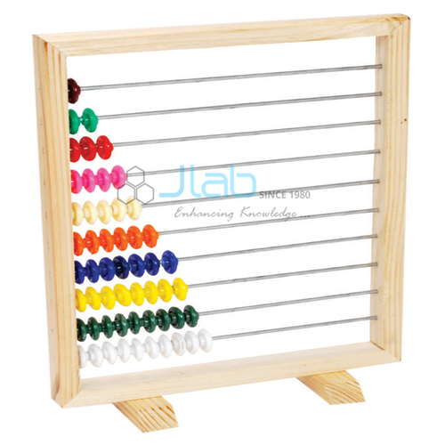 Counting Abacus Wooden with 55 Beads