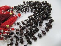 Natural Mozambique Garnet Gemstone Bead