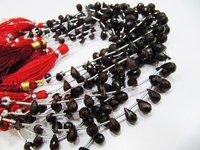 Natural Mozambique Garnet Gemstone Bead