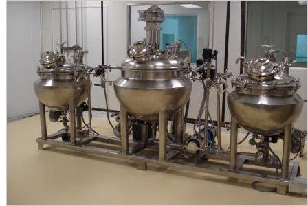 Pharmaceutical Cream Manufacturing Plant