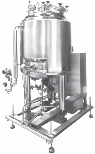Pharmaceutical CIP Sterile Vessel
