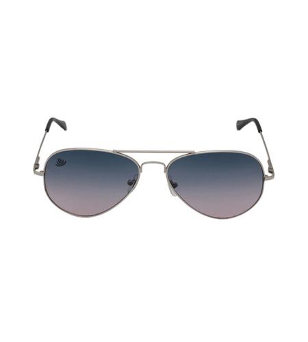 Mens silver & grey sunglasses