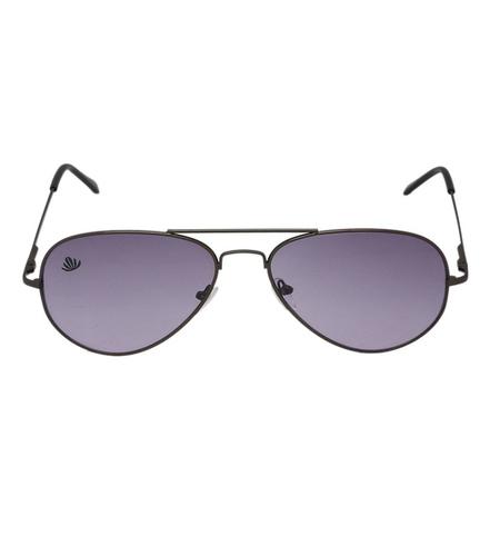 mens black & purple avaitor sunglasses