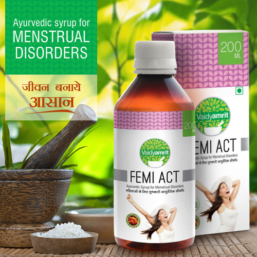 Ayurvedic Syrup for Menstrual Problems