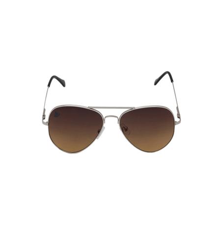 Mens silver & brown Sunglasses