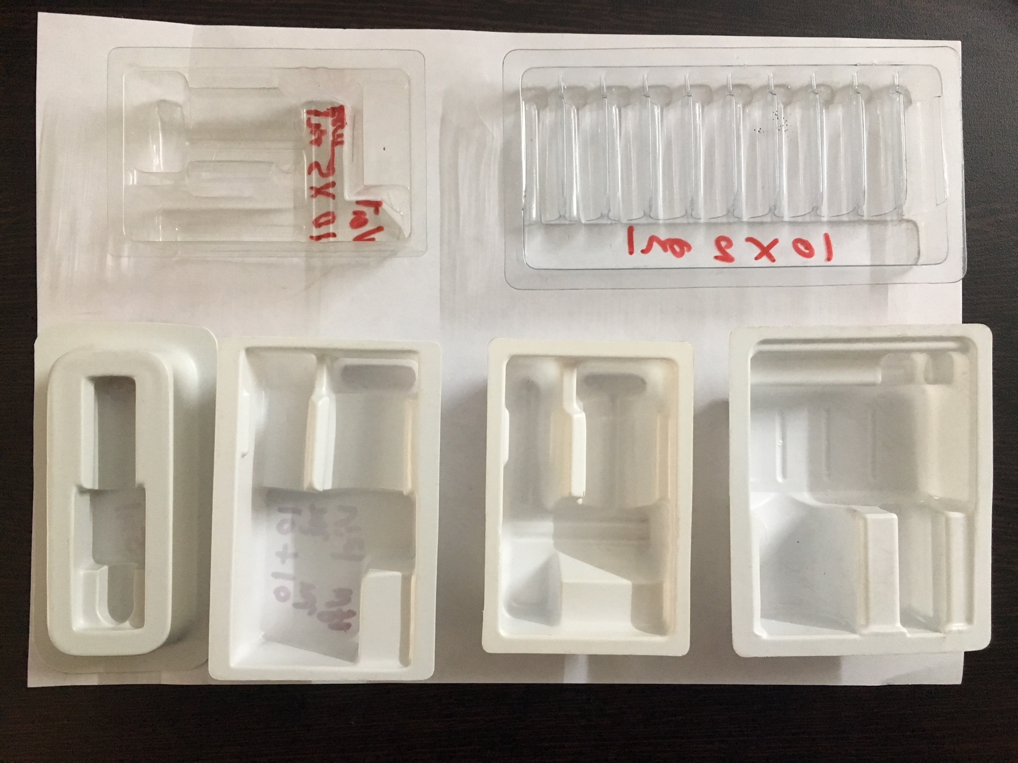 Plastic Pharmaceutical Packaging Tray