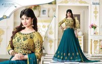 WEDDING WEAR GEORGETTE FABRIC SALWAR SUITS