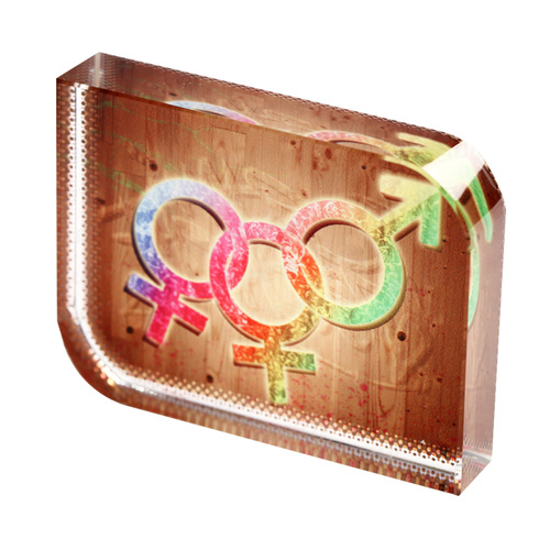 Sublimation Crystal Photo Frame (VBXP-12)